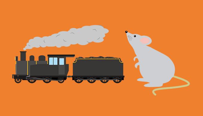 11箱目「機関車はチュウチュウ」