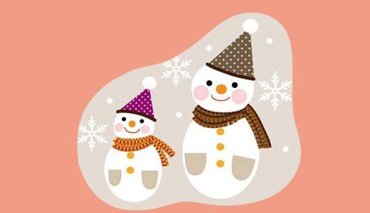 英語のおまけ箱5箱目「雪だるま作ろう♪」