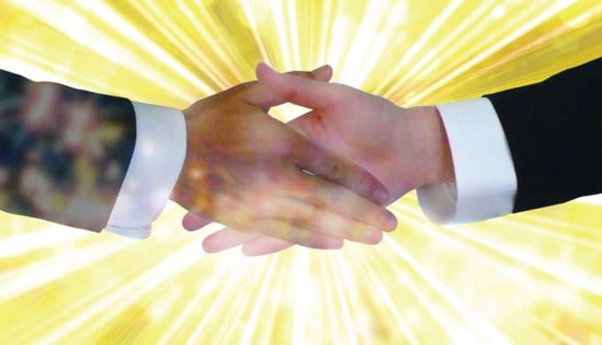「握手の作法」学而会 英語のおまけ箱